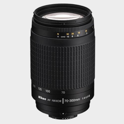 Nikon AF Zoom-Nikkor 70 - 300 mm f/4-5.6G Lens price in Qatar lulu