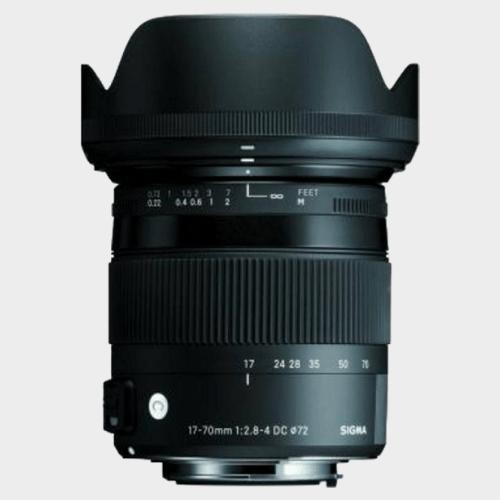 Sigma 17 - 70 mm f/2.8 - 4 DC Macro OS HSM Contemporary Lens price in Qatar souq
