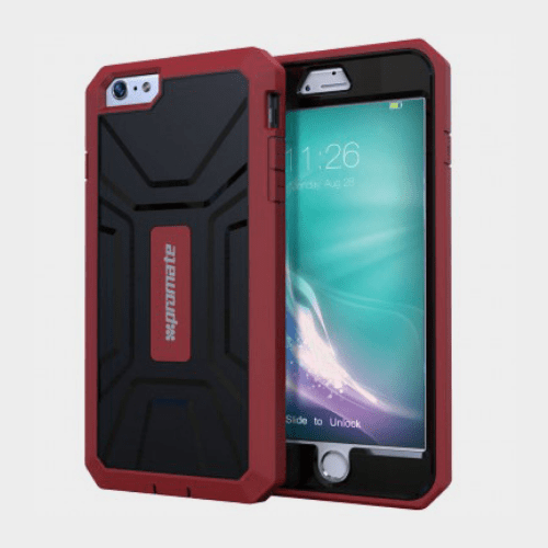 Promate Armor i6 iPhone 6/6s Case Maroon Price in Qatar