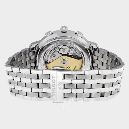 Tissot Bridgeport Stainless Steel Men's Watch T0454271103300 Price in Qatar souq
