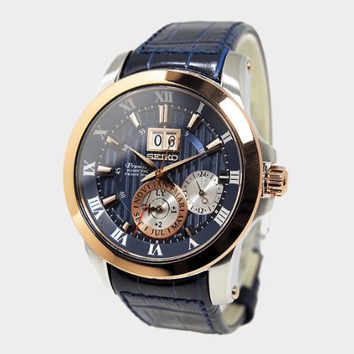 Seiko Premier Kinetic Perpetual Men's Watch SNP126P1 Price in Qatar