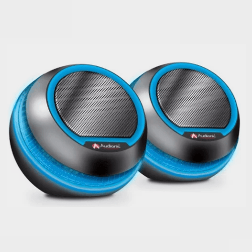 Audionic Octane U-15 Mini Portable Speaker - Blue Price in Qatar