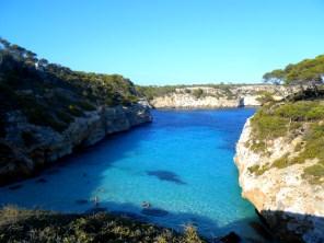 Caló des Moro in Mallorca, Spain