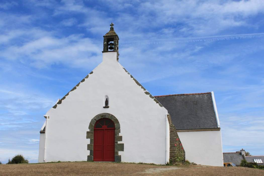 The little chapel Saint Léonard at Quelhuit, island of Groix