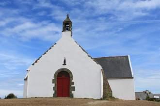 The little chapel Saint Léonard at Quelhuit, island of Groix