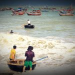 Basket Boats in Vietnam