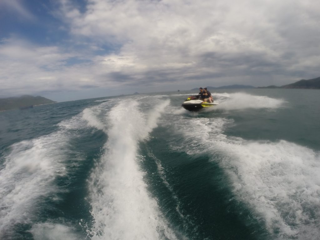 Catching the breaks-Jetski nha trang