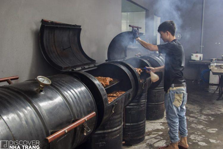 Custom Rib Smokers BBQ Un In Nha Trang