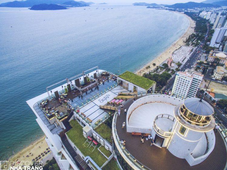 Skylight view of Nha trang -Daytime- nha trang beach