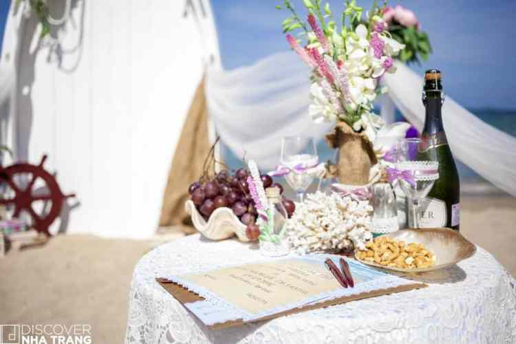 Wedding on the beach-Nha trang-Vietnam