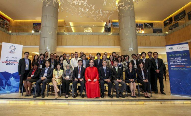 Apec delegates attending nha trang summit 2017