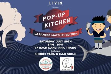 Pop Up Kitchen Japanese LIVINcollective Nha Trang