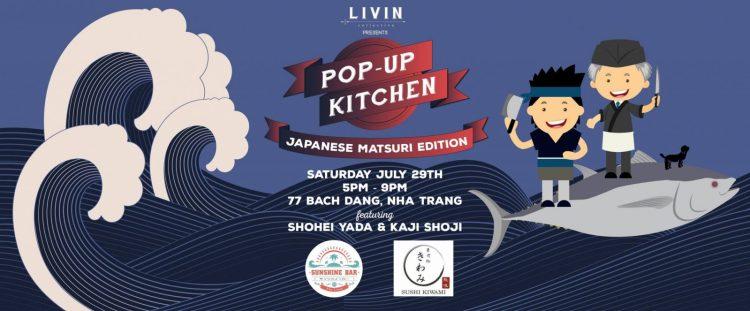 Pop Up Kitchen Japanese LIVINcollective Nha Trang