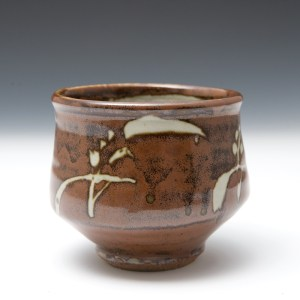 Mike Dodd Wax Resist Tea Bowl