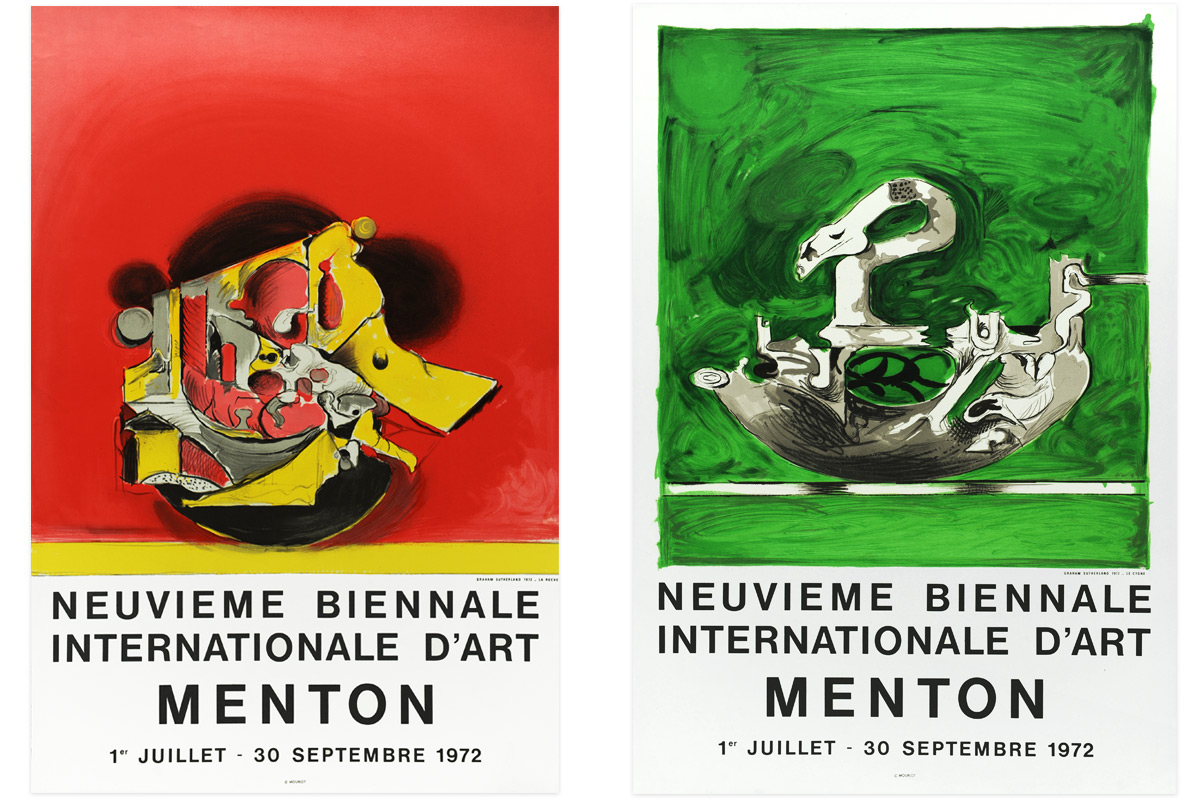 Graham-Sutherland-Biennale-Lithographic-Posters