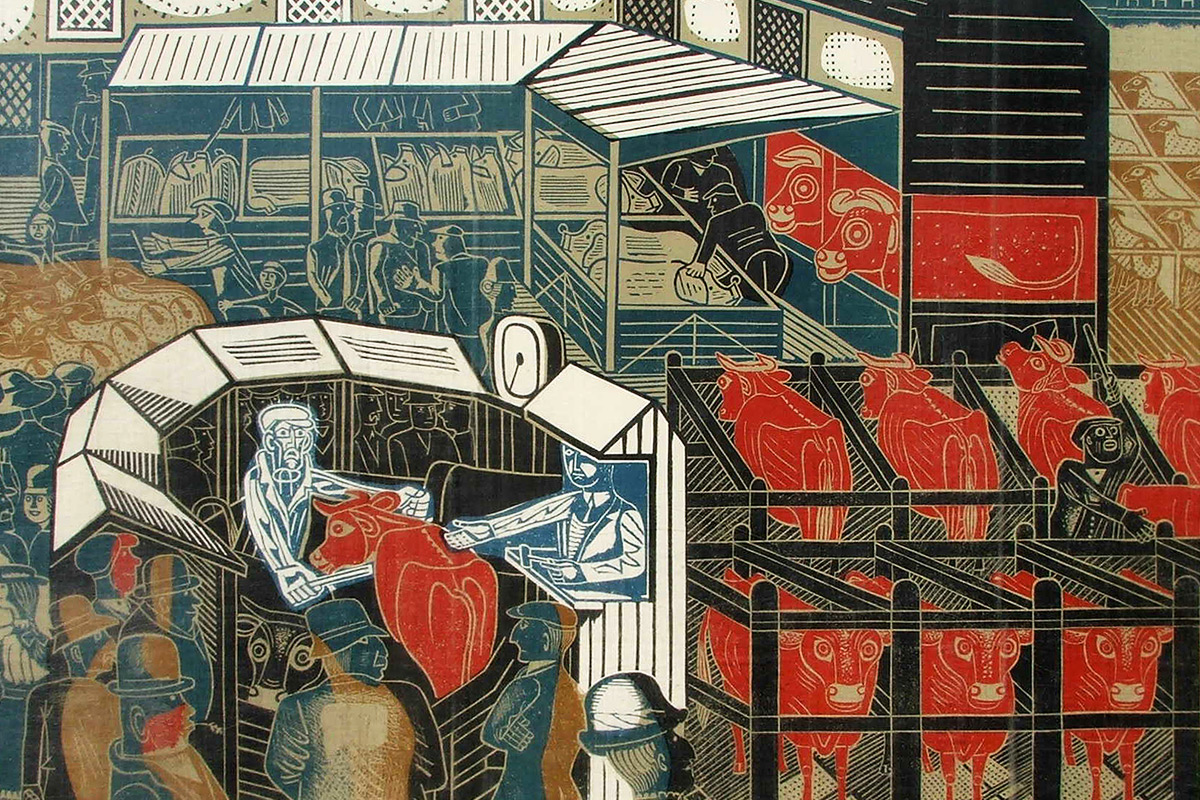 Edward-Bawden-Cattle-Market-Contemporary-Lithographs-Ltd