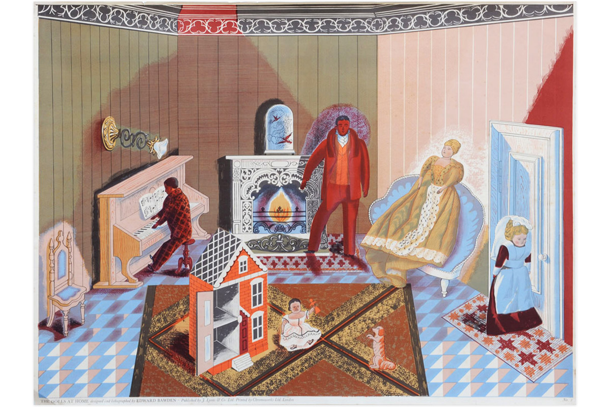 Edward-Bawden-The-Dolls-At-Home