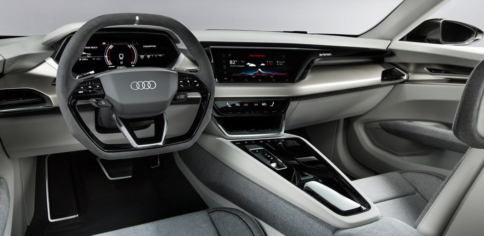 Sustainable and Luxurious Interior Audi concept car