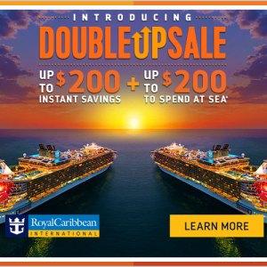 Royal Caribbean Double Up Sale! – Ends 11/5/17!