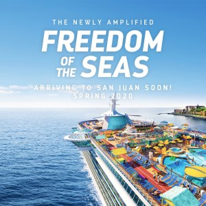 The all-new Freedom of the Seas!
