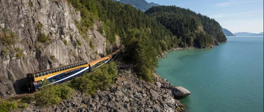 Luxury Rail travel with Rocky Mountaineer