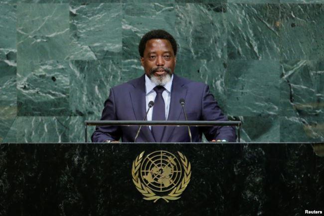 President Kabila. Congo's election to replace Kabila has been repeatedly shifted