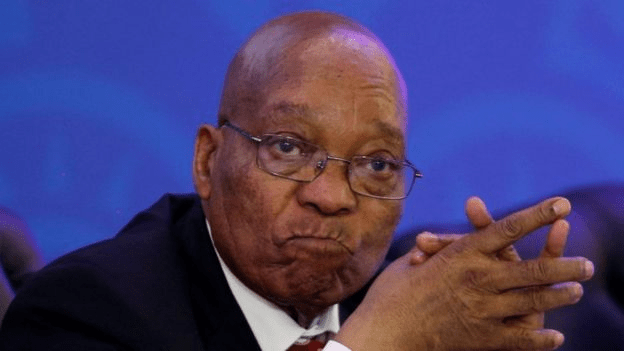 Jacob Zuma was booed in East London on Saturday. Photo credit/Reuters