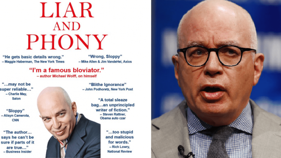 The Republican Party has tweeted a parody cover of the book, Fire and Fury, with titled, LAIR and PHONY