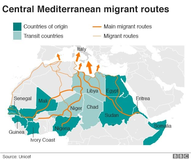 EU's border management agency, Frontex, said the numbers of migrants travelling to Europe illegally last year dropped 60% to 204,300.