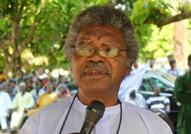 Former NEF Chairman, Paul Unongo