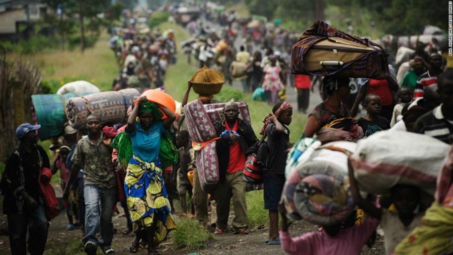 Thousand flee their homes in DR Congo