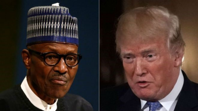 Pundits say Buhari's preoccupation for the visit is his endorsement for his second-term in 2019. But presidential sources say they are expected to discuss shared economic and security interests. Photo/BBC