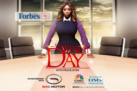 My worst day 'Season 2' with Peace Hyde makes a comeback on Forbes Africa TV