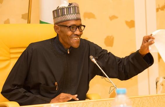 President Muhammadu Buhari early last year