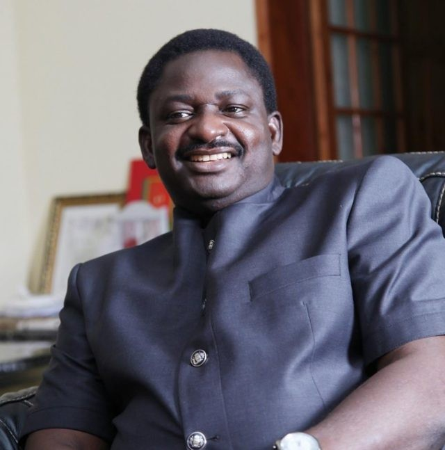 Special Assistant to President Buhari on Media and Publicity, Femi Adesina
