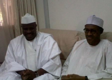 Aminu Tambuwal and Buhari