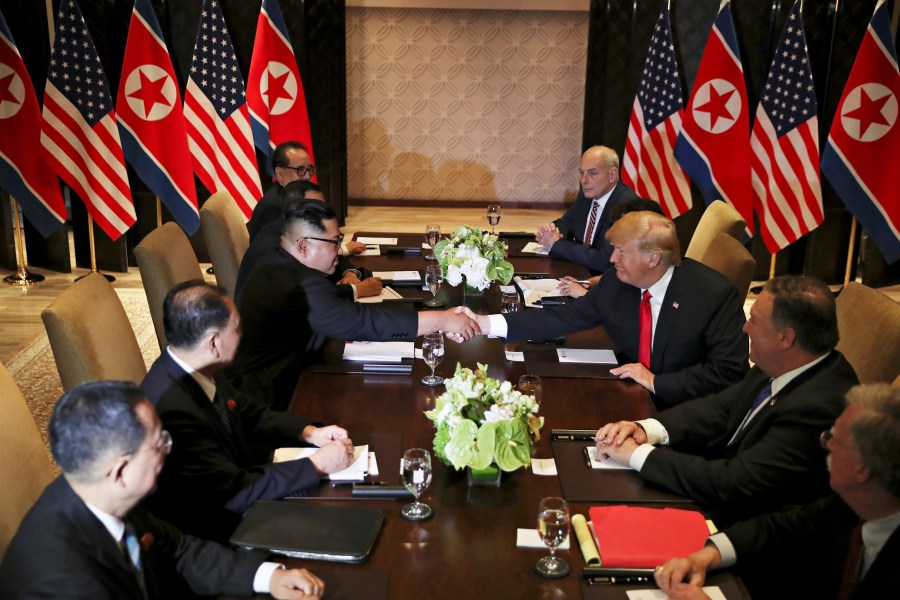 Trump lead US delegation for a summit with North Korea recently