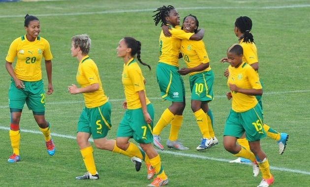 South Africa women's national senior socccer Banyana Banyana