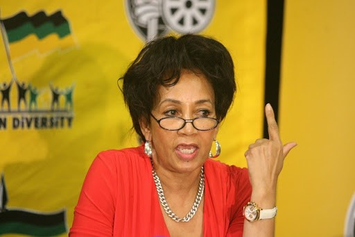 Africa's Minister of International Relations and Cooperation, Lindiwe Sisulu