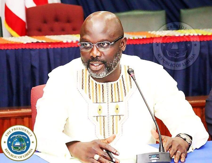 Journalist Jackson's book account of me not correct, says George Weah
