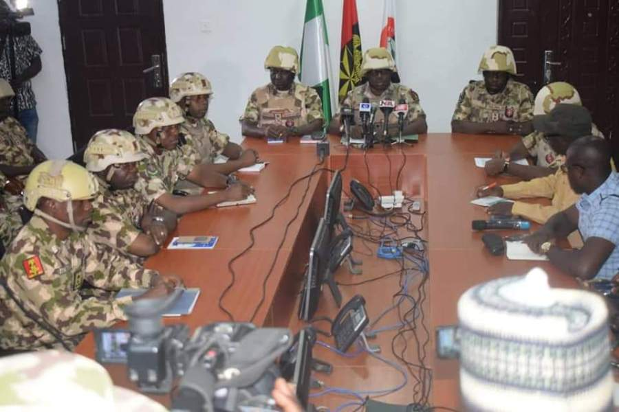 2019 election: Nigerian army launches 'Egwu Eke III' Python Dance III across the country