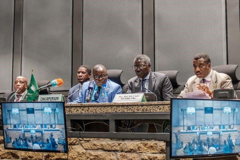 AU has suspended Sudan until civilian govt. is established