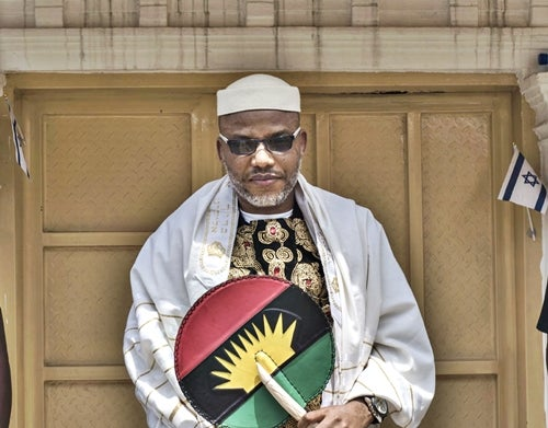 Nnamdi Kanu, leader of Biafra separatist group