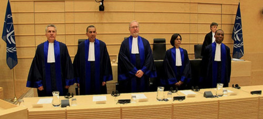 ICC Pre-Trial Chamber III is composed of Judge Olga Herrera Carbuccia, Presiding, Judge Robert Fremr, and Judge Geoffrey Henderson.