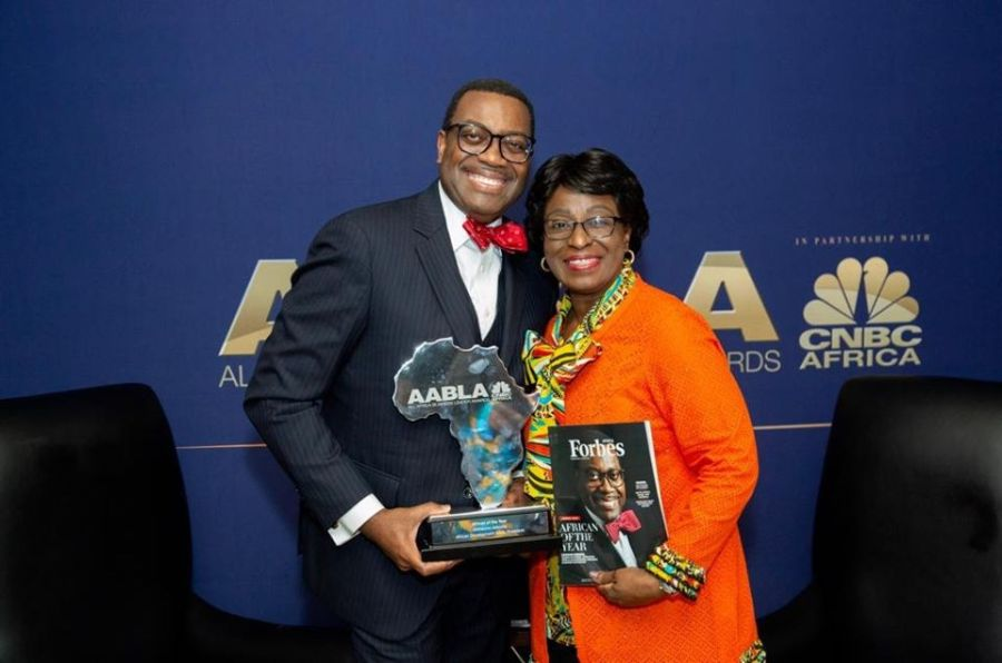 African Development Bank President, Akinwunmi Adesina, wins All Africa Business Leaders Awards ™ 2019 African of the Year award