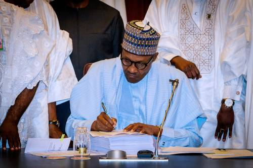 7.5% VAT becomes effective in Nigeria as Buhari Signs Finance Bill Into Law