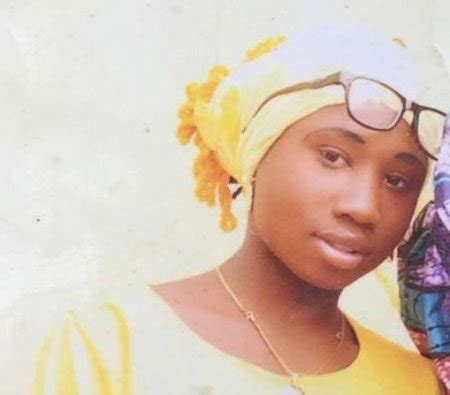 Leah Sharibu before she was abducted early 2018
