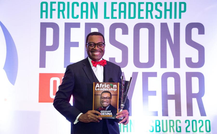 AfDB President, Adesina receives 8th African Leadership Magazine African of the Year Award