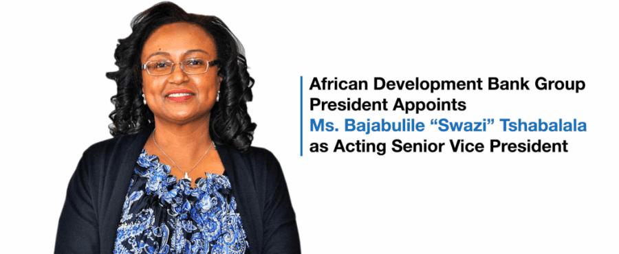 South Africa's Tshabalala becomes AfDB Senior Vice President