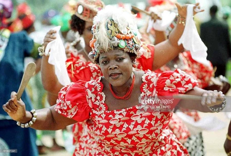 Ijaw cultural troupe, Southern Nigeria
